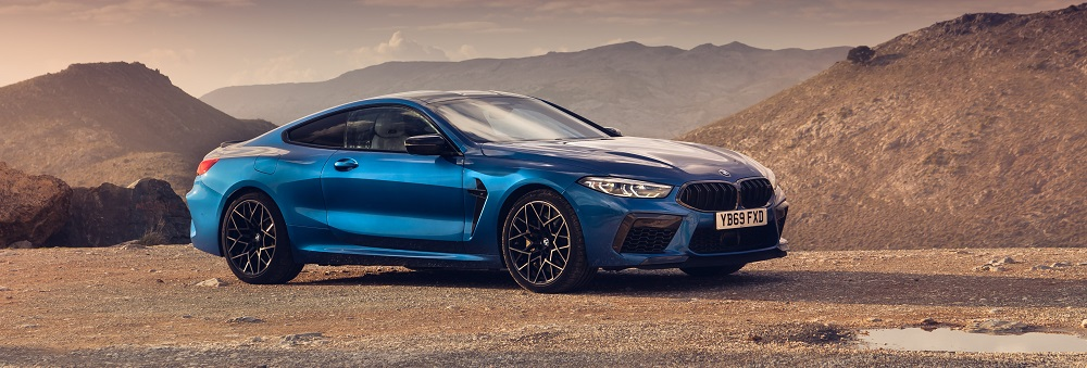 2020 BMW M8 Coupe Sideways Concept Image