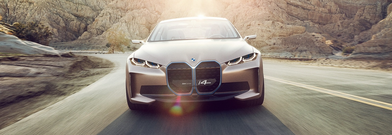 BMW Concept i4 | Purely Electric Gran Coupe